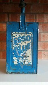 Vintage Esso blue valor paraffin can