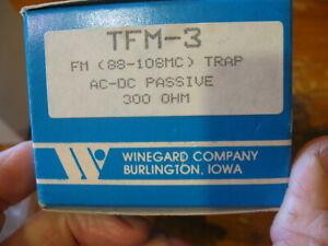 NEW Winegard TV FM Trap AC-DC Passive 300 OHM cascading  # TFM-3
