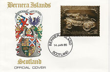 Gb locals-bernera (2252) - 1985 or voitures de dion bouton on first day cover