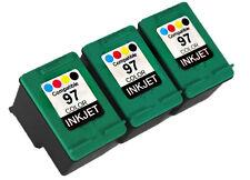 3PK FOR HP97 HP 97 C9363WN OFFICEJET 7310 7310XI 7410 7410XI PHOTOSMART B8300