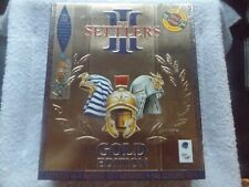 THE SETTLERS III 3 GOLD EDITION PC-CD BOXED RTS STRATEGY ( brand new & sealed )