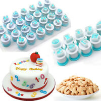 Paste Cookie Cutter Baking Mould Alphabet Cake Mold Cake Decorating Tool