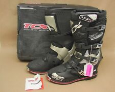 New NIB TCX Pro 2 MX Motocross Motorcycle Riding Boots US 8 EU 41 (Black)