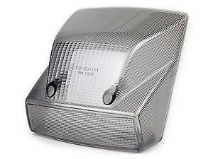 Smoked Rear Brake Light Lens - Vespa PX 125 150 200  Disc Model