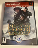 Medal of Honor Frontline (Sony PlayStation 2 PS2) Complete!