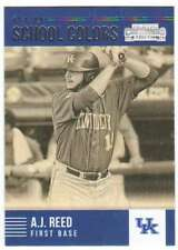2015 Panini Contenders Baseball Old School Colors #18 A.J. Reed