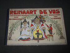 REINAART DE VOS VOOR KINDEREN BEWERKT BY P. A. E. OOSTERHOFF - DUTCH - KD 4783