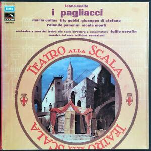 Leoncavallo - Maria Callas – I Pagliacci - Box Double LP & Booklet - Mint