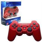 Mando PS3-DualShock 3 Sixaxis Bluetooth NUEVO ✸Color Rojo Red✸ NO BOX Sin Caja
