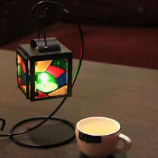 Mosaic Glass Hanging Lantern Tea Light Candle Holder Wedding Christmas #2
