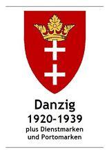 [VB002] Danzig 1920-1939, digitale Vordruckblätter mit Info-Blätter, Bilder
