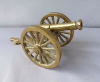 Brass Model Cannon Napoleonic Decorative Collectable Lot2
