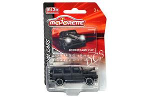 Majorette Mercedes Benz AMG G63 Matt Black MIJO Exclusive 1/64 Scale  3052 MJ7