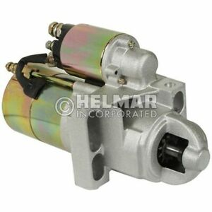 For Clark Forklift Starter 933606-NEW Straight Drive :No Gear Reduction Yes Volt