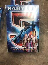 Retired Babylon 5 CCG - Premier - Centauri Starter Deck + Extra Cards 1997