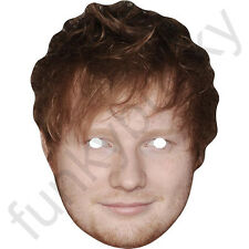 Ed Sheeran Singer Celebrity Card Face Mask - All Our Masks Are Pre-Cut!