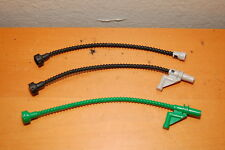 Lot of 3 Lego Duplo Hoses and Extension Green Black Grey