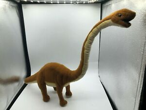 Official Hansa Portraits Of Nature Dinosaur Brachiosaurus Plush Kids Stuffed Toy