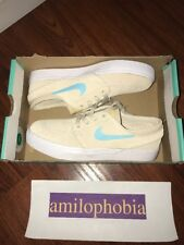 New Women's Nike SB Zoom Janoski CPSL Size 7.5 Oatmeal White Skateboarding Shoes