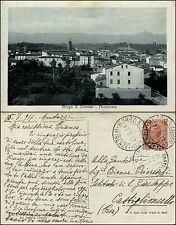 Borgo san Lorenzo, Firenze, panorama, viaggiata 1917