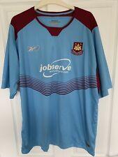 2004/2006 West Ham United away football shirt Hammers XL men's Reebok Jobserve
