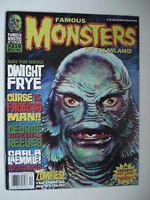 FAMOUS MONSTERS OF FILMLAND DWIGHT FRYE - ZOMBIES! ENGLISH MAGAZINE # 219 1997