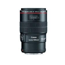 Canon EF 100mm f/2.8L Macro IS USM w/FREE Hoya NXT UV Filter *NEW*
