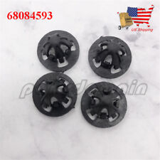 OEM 4x 68084593 TRUCK TAILLIGHT FASTENER CLIPS STUD RETAINER BLACK FOR DODGE RAM