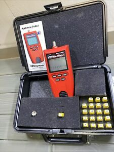 Platinum Tools T130K1 VDV MapMaster 3.0 Cable Tester Kit In Carrying Case Platt