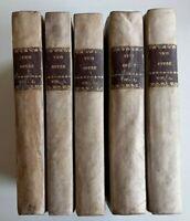 OPERE vol. 1-2-3-4-6 - GIAMBATTISTA VICO-Soc. Italiana Tipografica Classici 1837