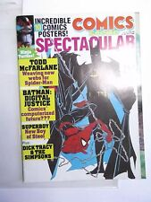 COMICS SCENE 10 POSTERS TODD MCFARLANE SPIDER-MAN BATMAN 1990 NINJA TURTLES Wow