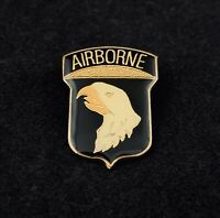 "🇺🇸US Army 101st Airborne ""Screaming Eagles"" CSIB Lapel Hat Pin 1-1/8"""