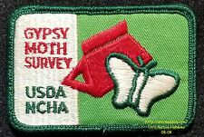 LMH PATCH Badge  NCHA GYPSY MOTH SURVEY National Campers Hikers FCRV Family USDA