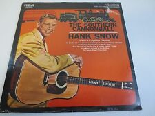 HANK SNOW ~ THE SOUTHERN CANNONBALL ~ Factory Sealed Vinyl LP
