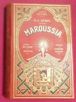 ENFANTINA. Maroussia. P-J STAHL. Hetzel sd. Cartonnage éditeur in-8° illustré