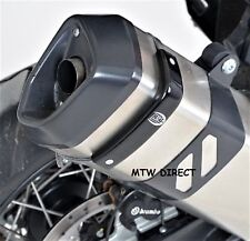 Triumph Trophy 1200 2013-2015 R&G Racing black exhaust can protector cover guard