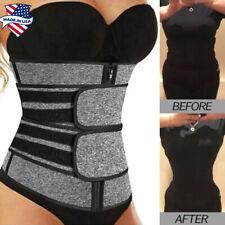 Women's Waist Trainer Weight Loss Corset Trimmer Belt Waist Cincher Body Shaper