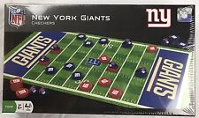 New York Giants NFL Home And Away Colors Checkers Board, New In Box