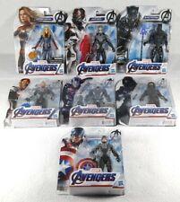 "Hasbro Marvel Avengers Endgame 6"" Figure Lot - Iron Man, Captain America, Etc."