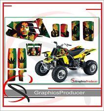 Yamaha Banshee 350 Graphics Full Decals Set Custom Design Bob Marley Theme