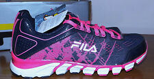 FILA MEMORY FOAM BRIGHT PINK SPLASH NAVY BLUE WOMENS NEW RUNNING SHOES SIZE 6.5M