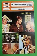 US Drama The Chase Marlon Brando Jane Fonda Rob Redford French Film Trade Card