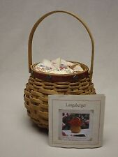 Longaberger 2004 Let Me Call You Sweetheart S. E. Tournament of Roses Basket