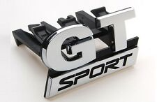 NEW GT Sport Grill Car Emblem for VW Golf MK5 Front GT Sport Car Chrome Badge UK