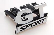 Nouveau gt sport grill voiture emblème pour vw golf MK5 front gt sport car chrome badge