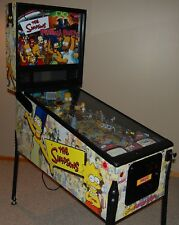 Simpsons Pinball Party Pinball Machine By Stern Coin Op NO RESERVE AUCTION