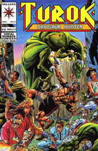 Turok, Dinosaur Hunter #2 Valiant Mint