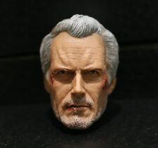 Custom made ! Clint Eastwood 2.0 damage Unforgiven William Will Munny 1/6 HEAD