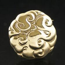 Vintage Danish Gold Brooch - B.Hertz/ Bindesbøll