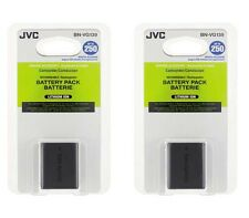 TWO 2X Genuine JVC BN-VG139 BN-VG139U BN-VG139US Batteries for GZ-E200 GZ-GX1
